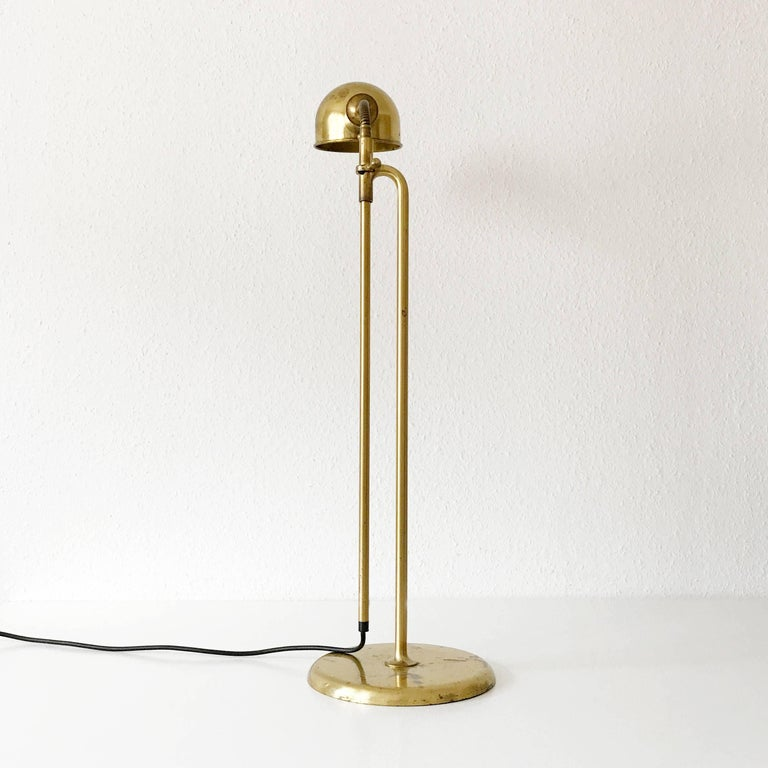 Articulated floor lamp or reading light bola by florian schulz 1970s germany for sale at 1stdibs