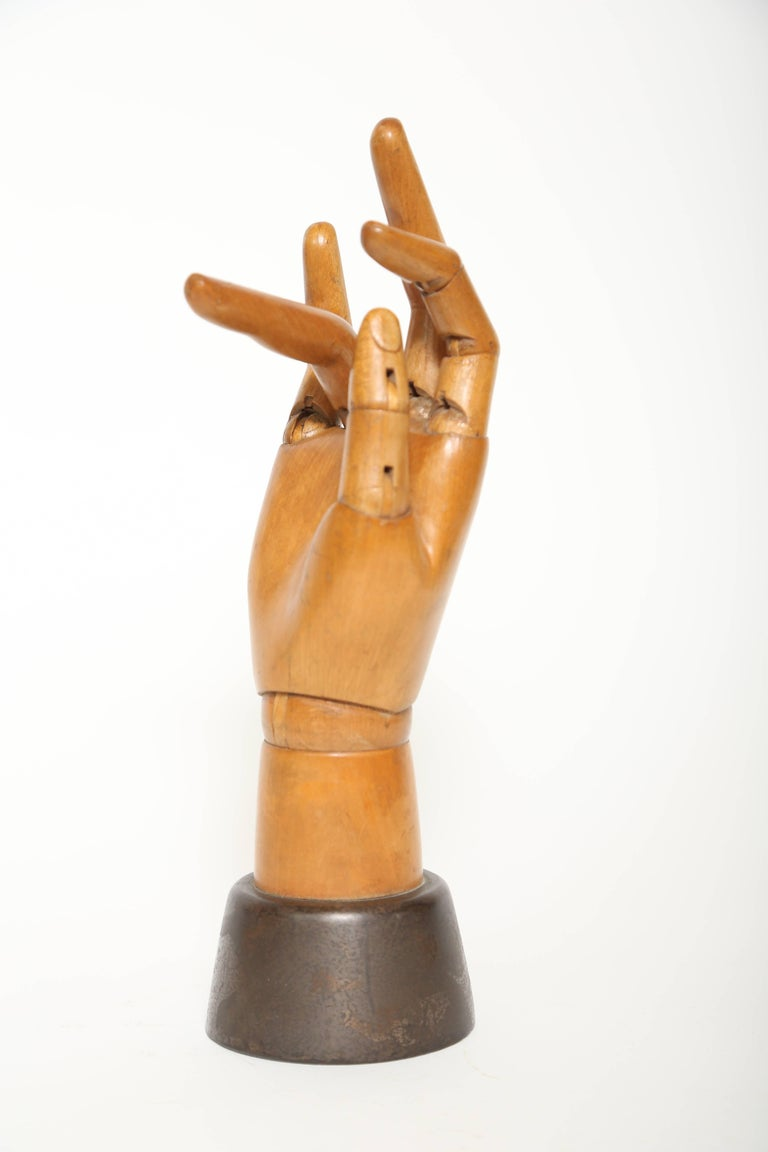 English Articulated Hand Mannequin For Sale