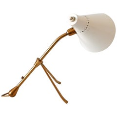 Articulated Mid-Century Modern Table or Wall Light by Giuseppe Ostuni for Oluce