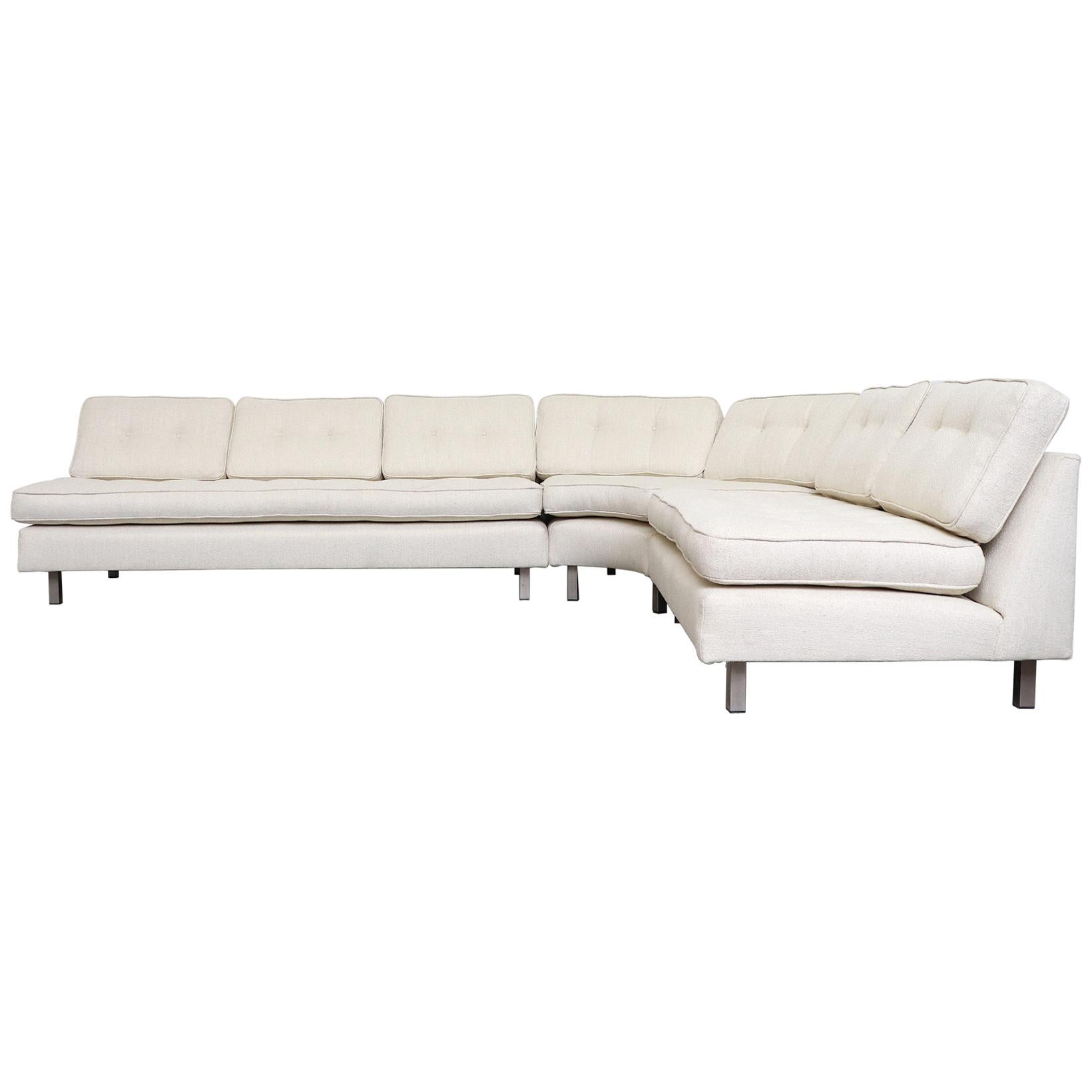 Artifort 3-Piece Sectional Sofa by Geoffrey Harcourt