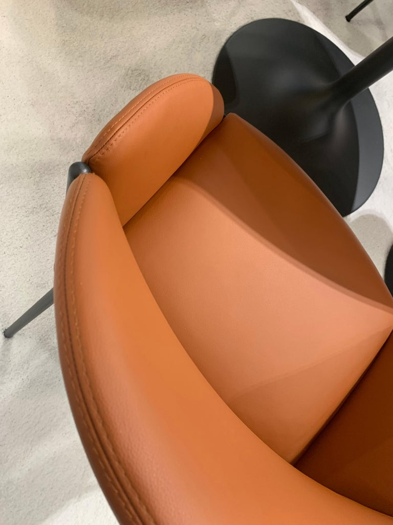Contemporary Artifort Andrea Leather Armchair For Sale