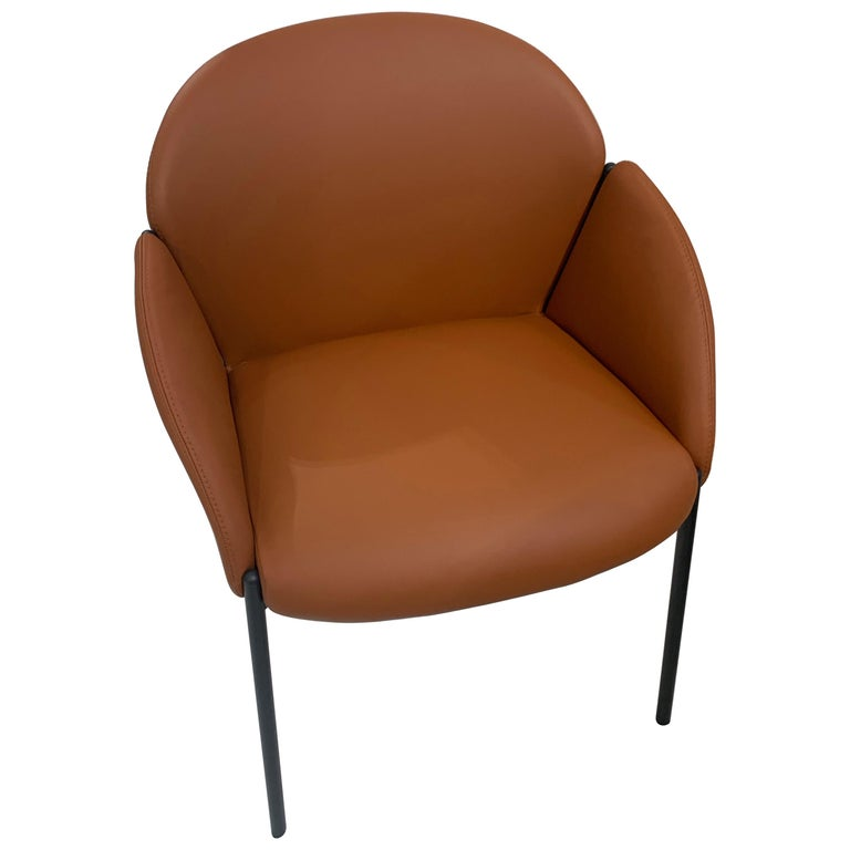 Artifort Andrea Leather Armchair For Sale