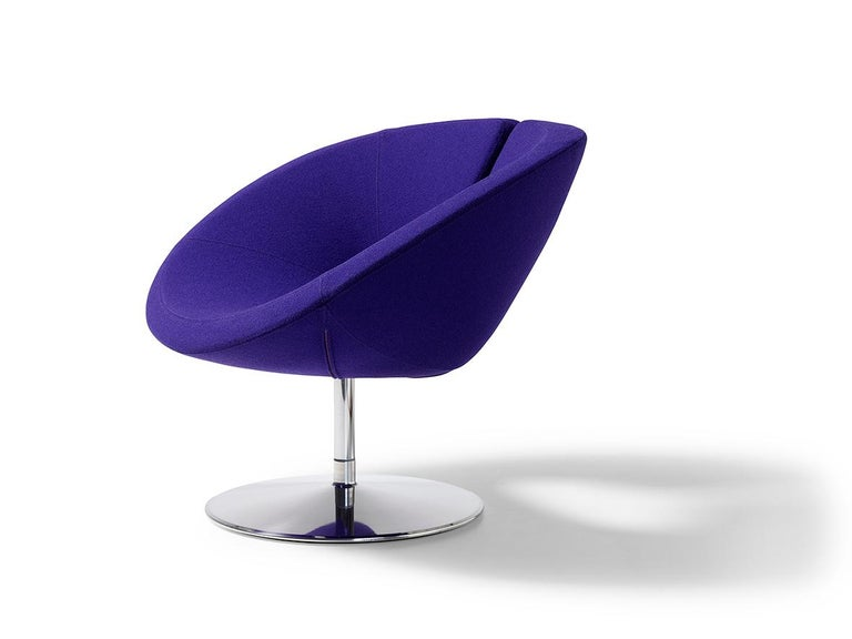 Modern Artifort Apollo Chair in Purple by Patrick Norguet For Sale