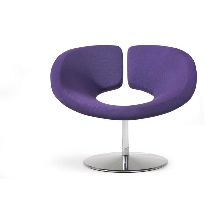 Artifort Apollo Chair in Purple by Patrick Norguet In New Condition For Sale In New York, NY