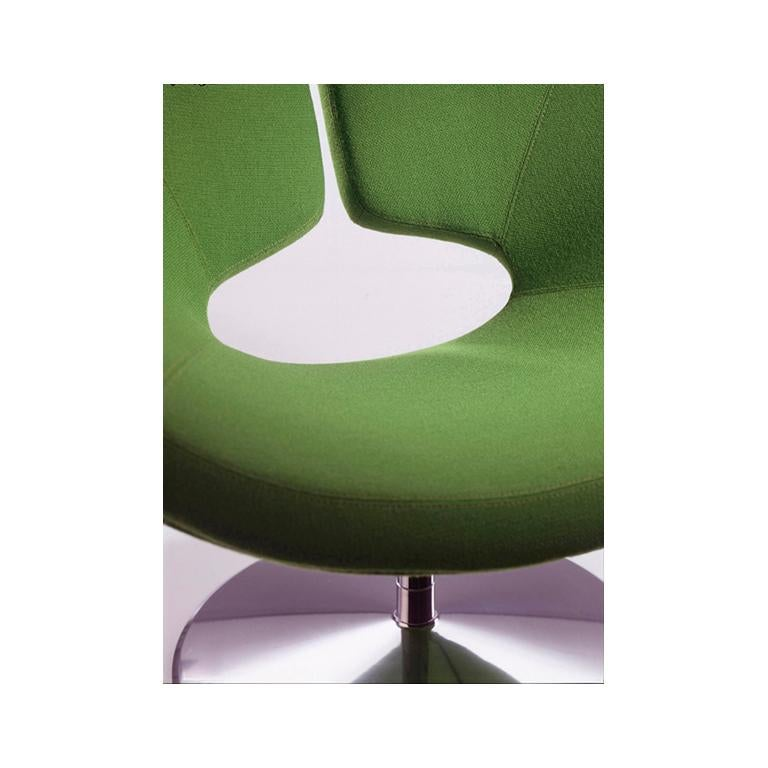 Contemporary Artifort Apollo Chair in Purple by Patrick Norguet For Sale