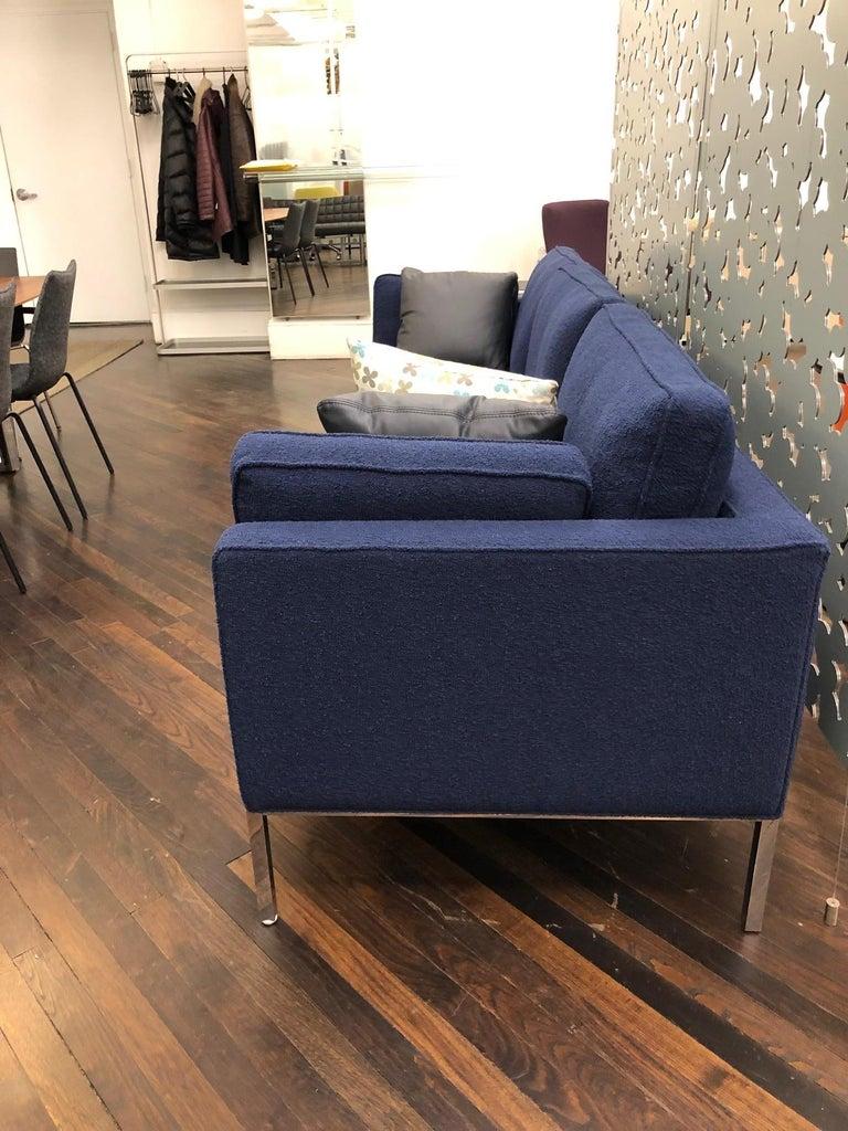 Dutch Artifort Blue 905 Comfort Sofa For Sale