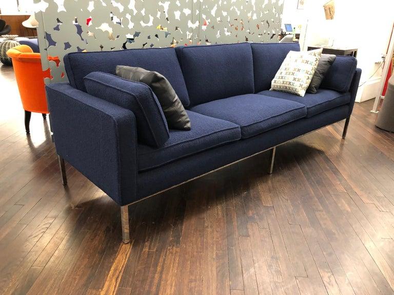 Mid-20th Century Artifort Blue 905 Comfort Sofa For Sale