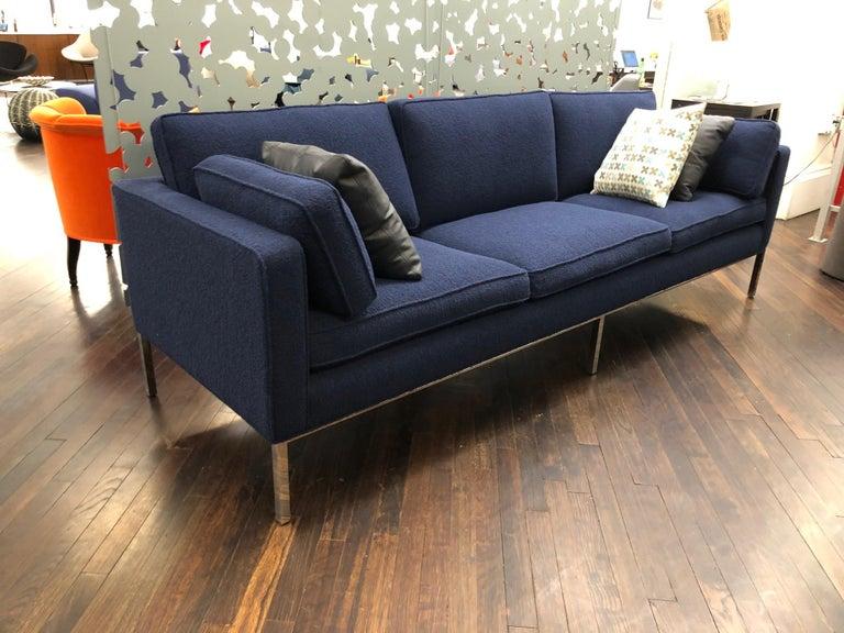 Fabric Artifort Blue 905 Comfort Sofa For Sale
