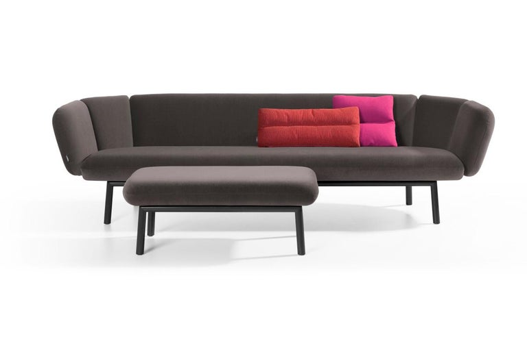 Modern Artifort Bras Sofa in Grey by Khodi Feiz For Sale