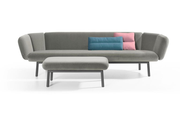 Dutch Artifort Bras Sofa in Grey by Khodi Feiz For Sale