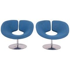 Artifort by Patrick Norguet Apollo Blue Armchair