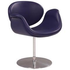 1960's Artifort Little Tulip Purple Swivel Chair by Pierre Paulin