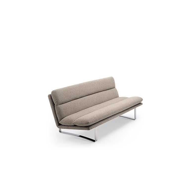 Modern Artifort C683 Sofa in Grey by Kho Liang Le For Sale
