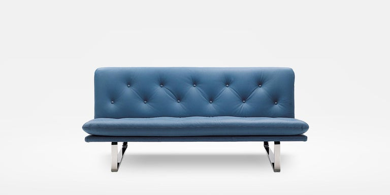 Dutch Artifort C683 Sofa in Grey by Kho Liang Le For Sale