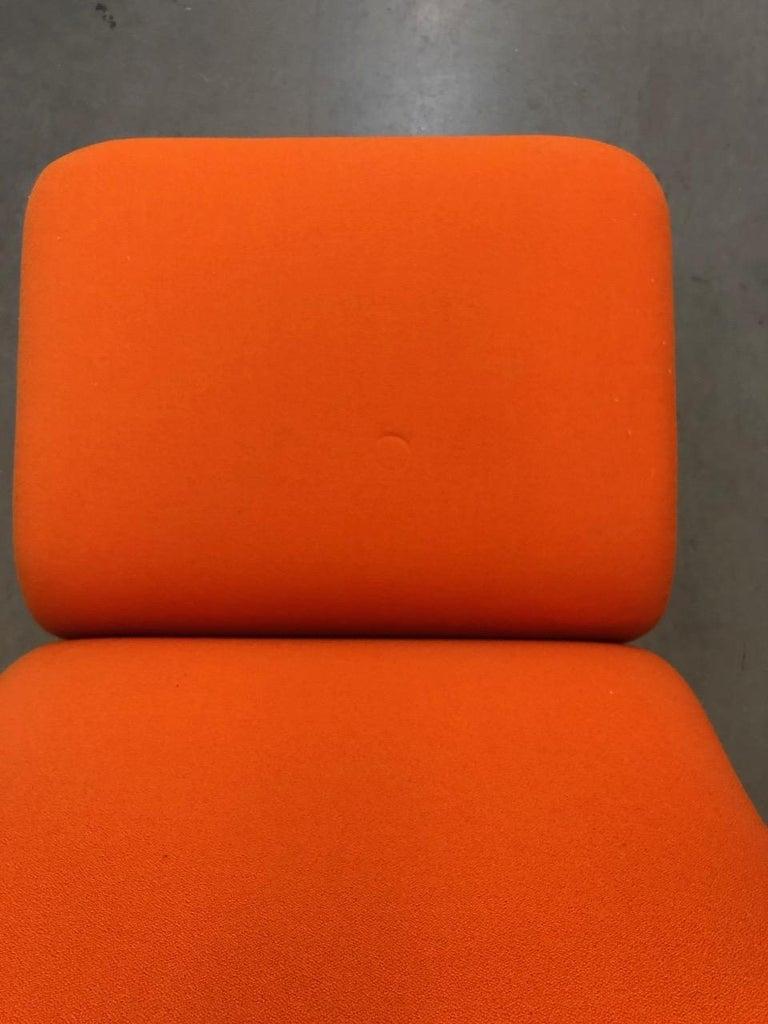 Artifort Classic Orange Low Back Concorde Chair by Pierre Paulin For Sale 9