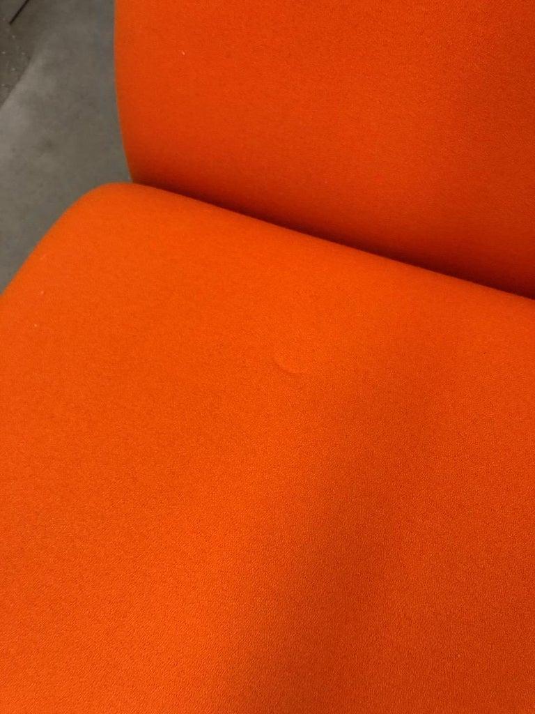 Artifort Classic Orange Low Back Concorde Chair by Pierre Paulin For Sale 2