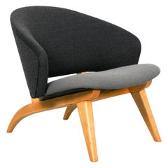 "Artifort ""Congo"" Rare Lounge Chair by Theo Ruth, 1950s"