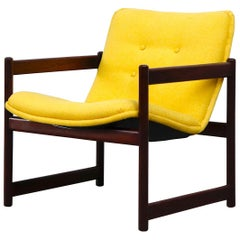 Artifort Cube Lounge Chair with Wood Frame