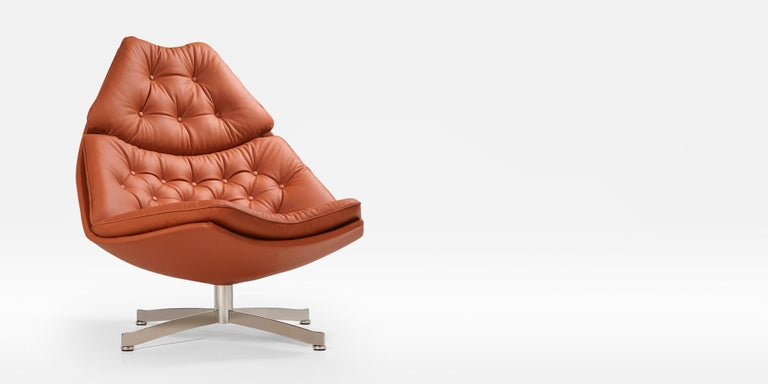 Modern Artifort F587 High Chair by Geoffrey D. Harcourt RDI For Sale