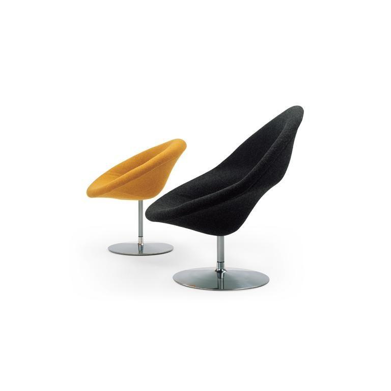 Modern Artifort Globe Chair in Dark Orange by Pierre Paulin For Sale