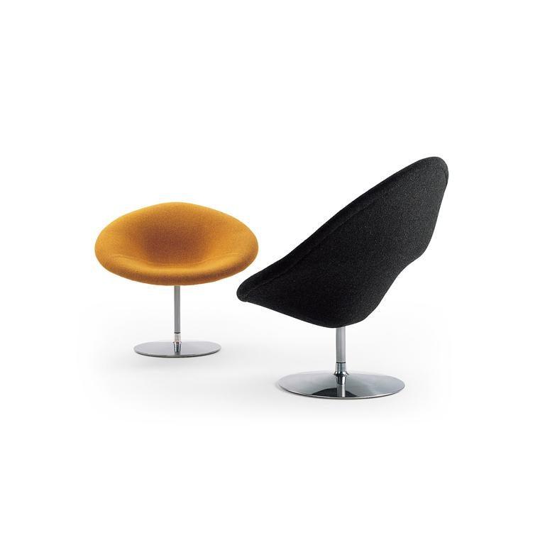 Dutch Artifort Globe Chair in Dark Orange by Pierre Paulin For Sale