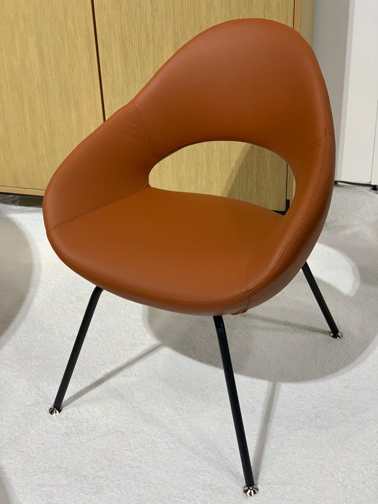 Contemporary Artifort Leather Shark Chair by Rene Holten For Sale