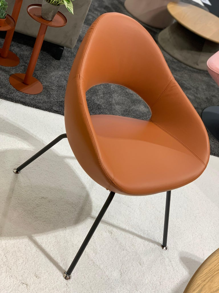 Artifort Leather Shark Chair by Rene Holten For Sale 1