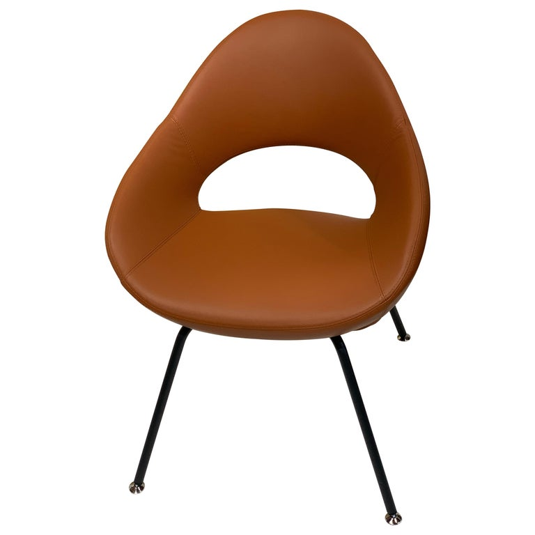 Artifort Leather Shark Chair by Rene Holten For Sale