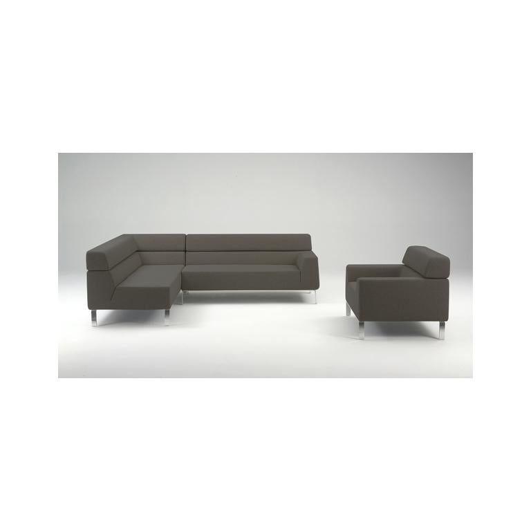 Modern Artifort Lex Chair in Grey by Patrick Norguet For Sale