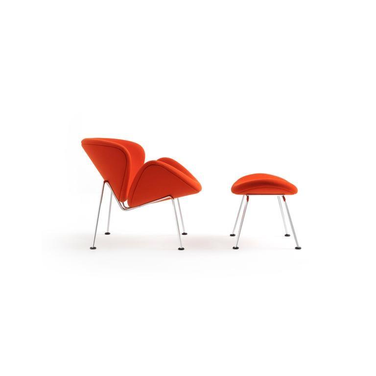 Dutch Artifort Orange Slice Armchair in Burnt Orange by Pierre Paulin For Sale
