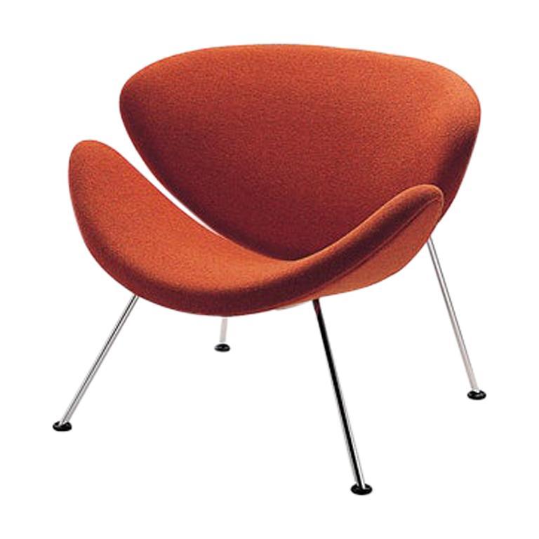 Artifort Orange Slice Armchair in Burnt Orange by Pierre Paulin For Sale