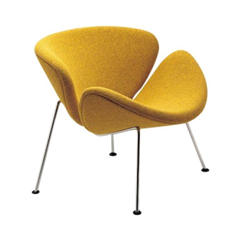 Artifort Orange Slice Armchair in Yellow by Pierre Paulin For Sale