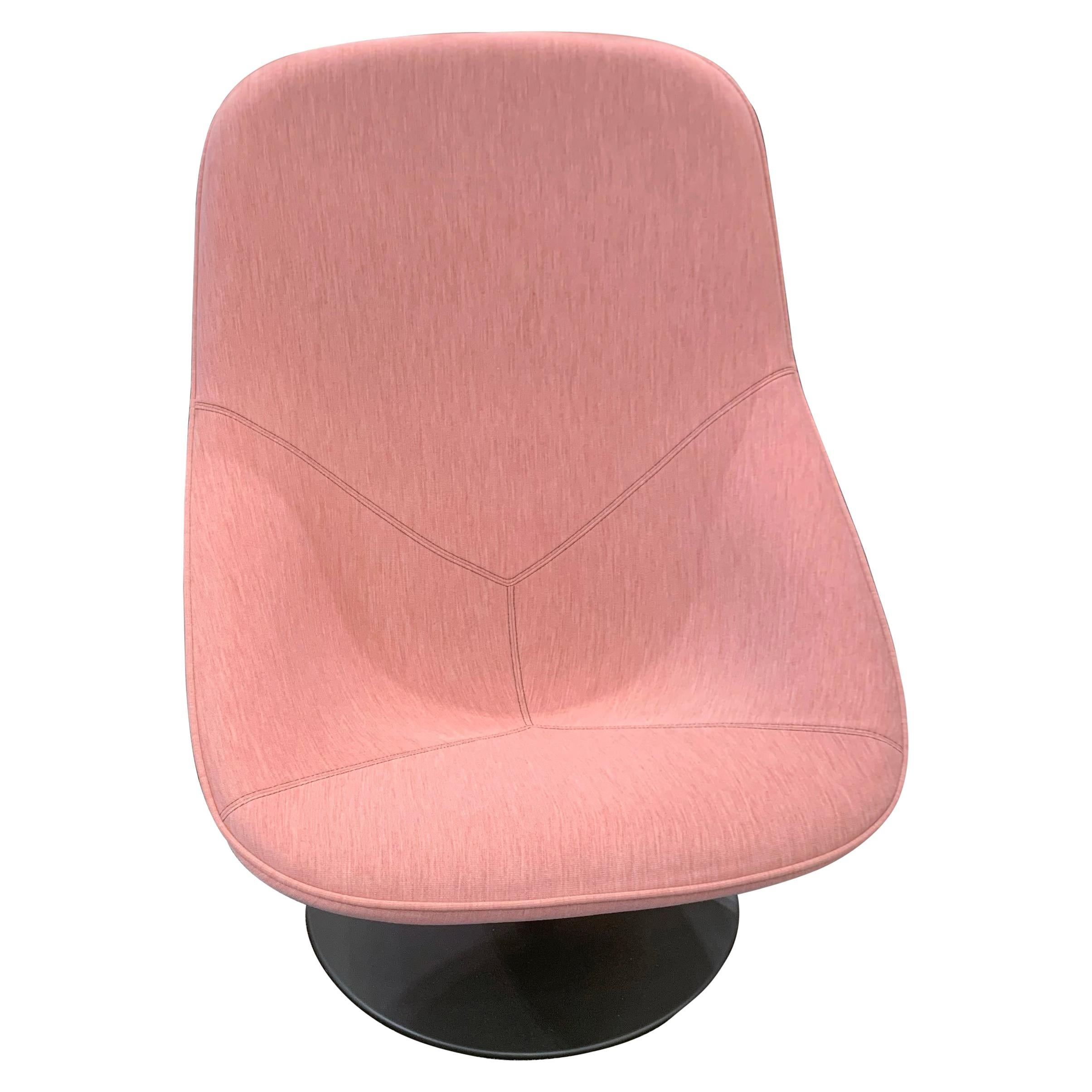 Swell Pink Swivel Chairs 21 For Sale On 1Stdibs Machost Co Dining Chair Design Ideas Machostcouk