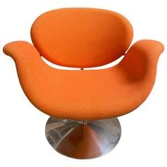 Artifort Pierre Paulin Swivel Orange Tulip Midi Lounge Chair