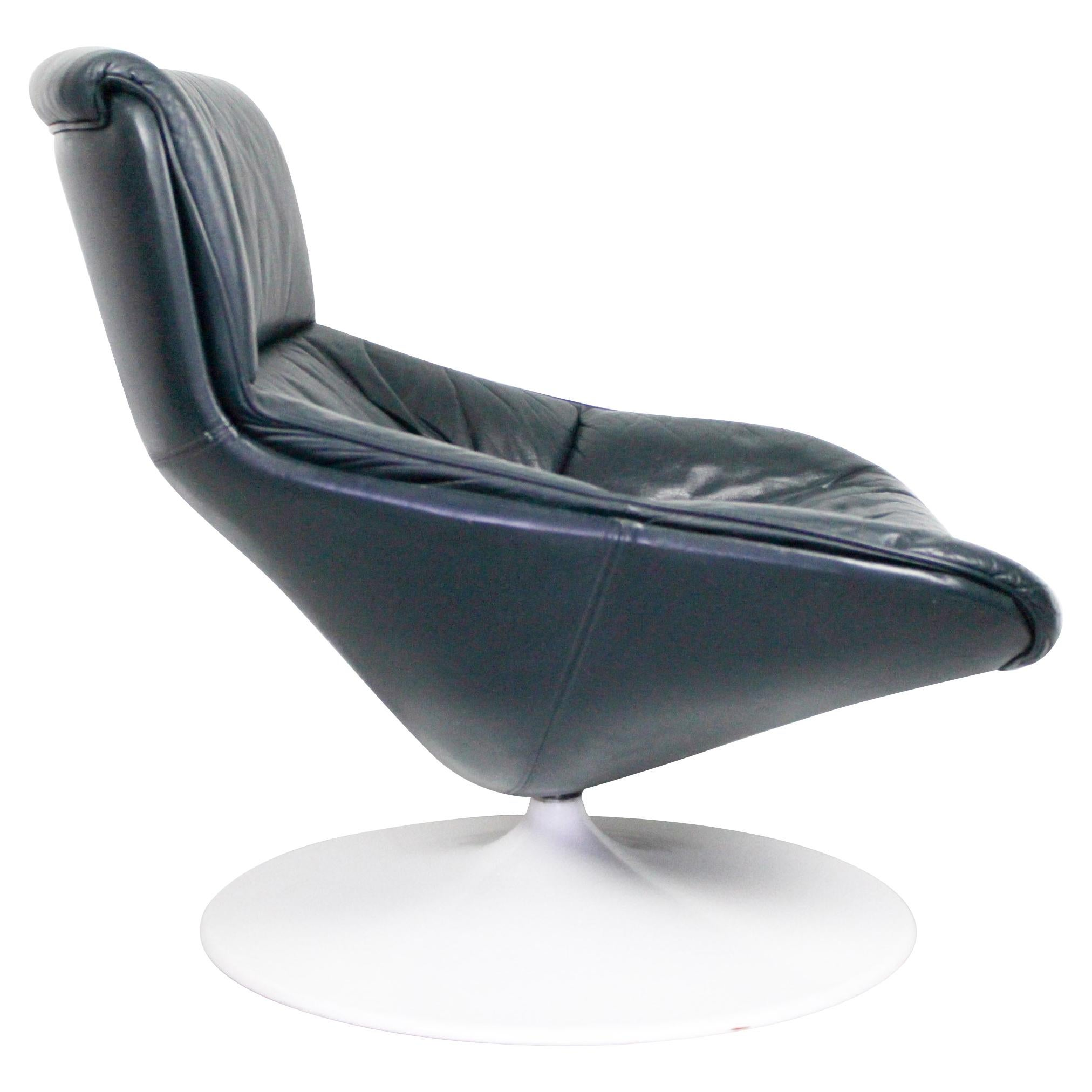 Artifort Swivel Chair Lounge Chair Geoffrey Harcourt F522, 1960s