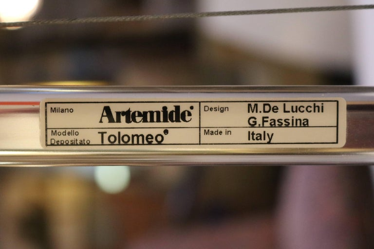 Steel Artimede Tolomeo Desk or Floor Lamp by Michele de Lucchi For Sale