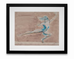 """""""Dance"""", Acrylic and Graphite on Paper"""
