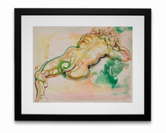 """""""Nude in Repose #1"""", Watercolor on Paper"""