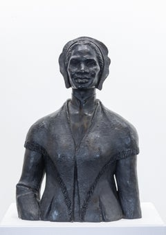 """Sojourner Truth"" Bronze Sculptural Bust, Portrait,"