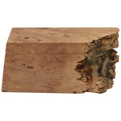 Artisan Burl Wood Box by Michael Elkan