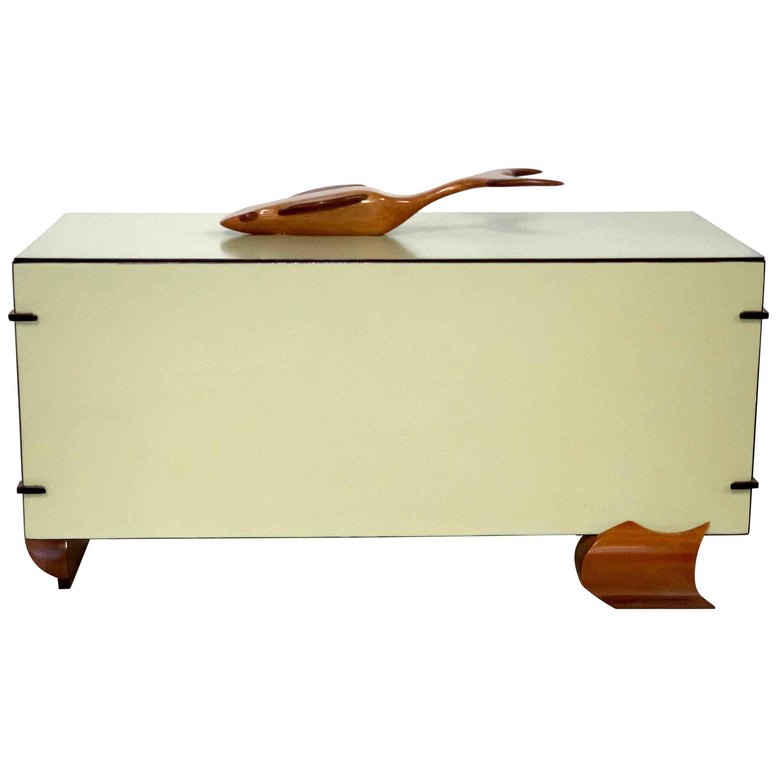 Artisan Craftsman Whale Top Box