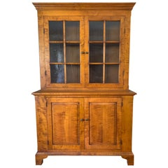 Artisan Made Eldred Wheeler Vintage China Cabinet Cupboard
