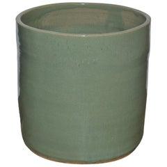 """Artisan Series Glazed Terracotta Planter """"Mente"""""""