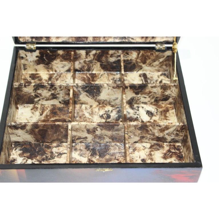 Pressed Artisan Storage Box by Nierman For Sale
