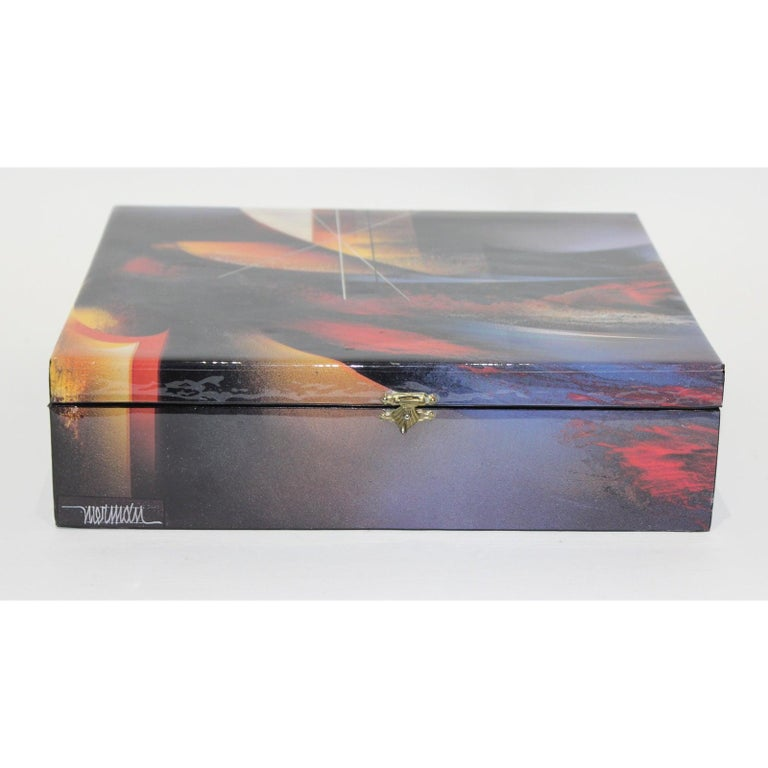 20th Century Artisan Storage Box by Nierman For Sale