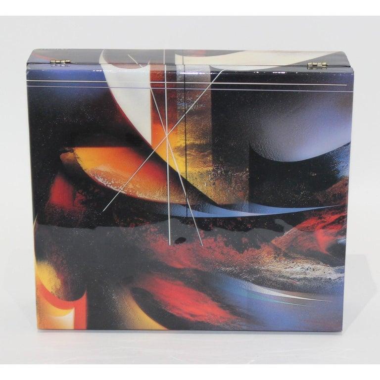 Paper Artisan Storage Box by Nierman For Sale