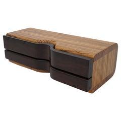 Artisan Wood Jewelry Box
