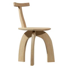 Artisanal Modern 80/20 Oak or Sycamore Chair Created by Vincent Vincent