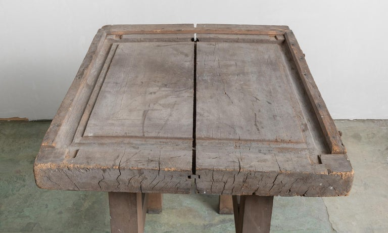 Artisan's Work Table, America, circa 1880 In Good Condition For Sale In Culver City, CA
