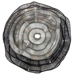 Artist Eric Gushee Emergence 2018 Series Woven Wire Wall Sculpture